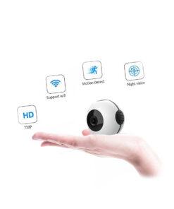 უკაბელო მიკრო კამერა Smart Mini Camera WiFi ვიდეოკამერა ...