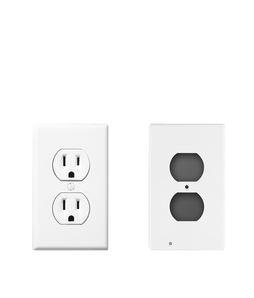 Led Outlet Night Lights Socket Switch Cover Stickers