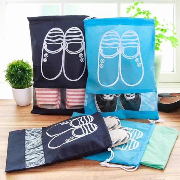 eTya Fashion Women Hot 1pcs High Quality Shoe Bag 2 size Travel Pouch Storage Portable Practical 1