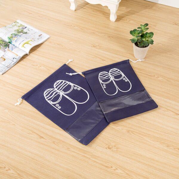 eTya Fashion Women Hot 1pcs High Quality Shoe Bag 2 size Travel Pouch Storage Portable Practical 2