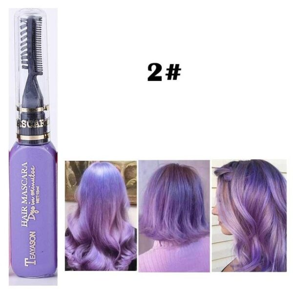 13 Colors One off Hair Color Dye Temporary Non toxic DIY Hair Color Mascara Washable One 1.jpg 640x640 1