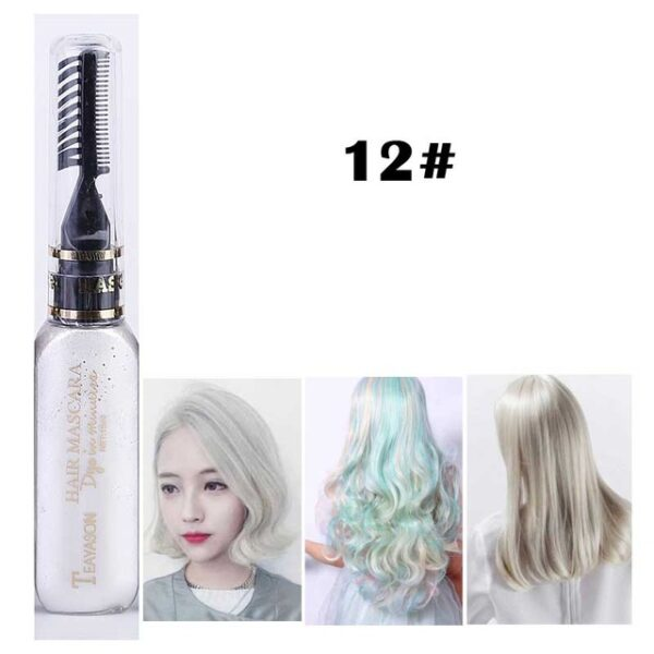 13 Colors One off Hair Color Dye Temporary Non toxic DIY Hair Color Mascara Washable One 11.jpg 640x640 11