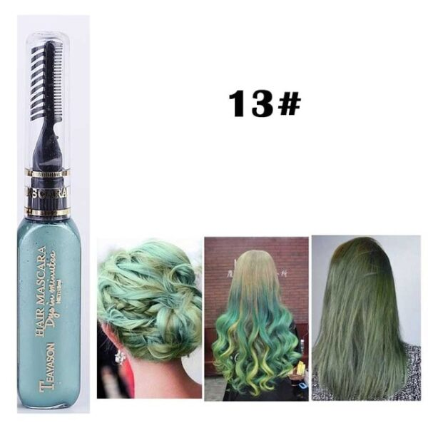 13 Colors One off Hair Color Dye Temporary Non toxic DIY Hair Color Mascara Washable One 12.jpg 640x640 12