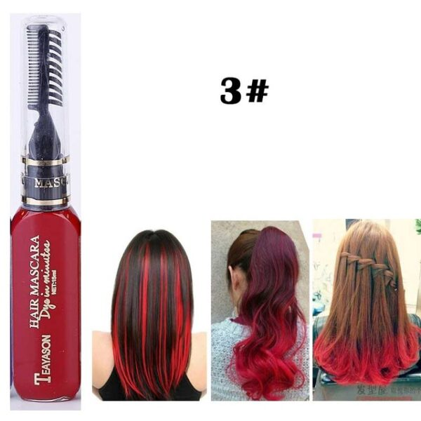 13 Colors One off Hair Color Dye Temporary Non toxic DIY Hair Color Mascara Washable One 2.jpg 640x640 2
