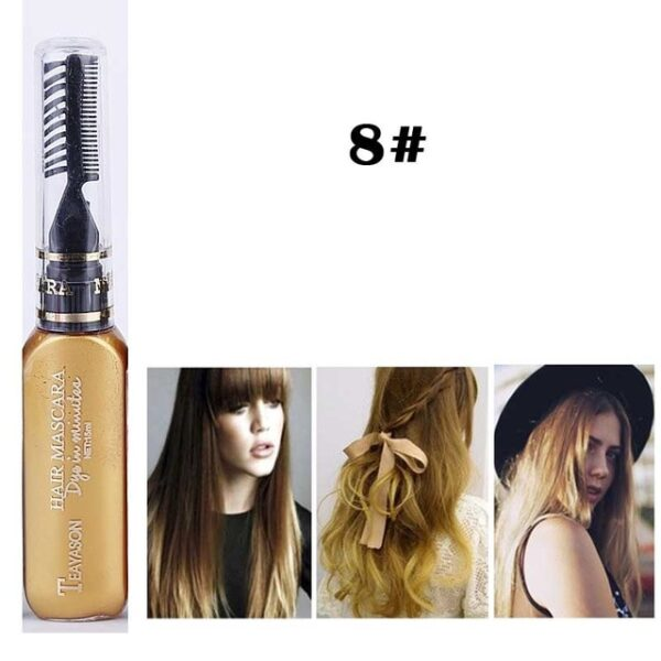 13 Colors One off Hair Color Dye Temporary Non toxic DIY Hair Color Mascara Washable One 7.jpg 640x640 7