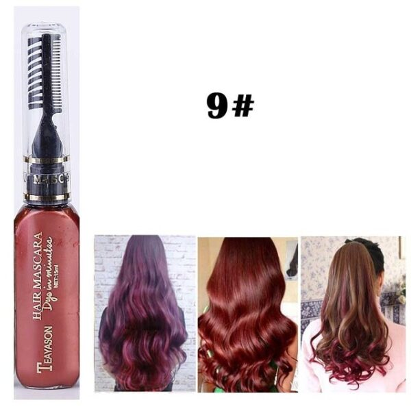 13 Colors One off Hair Color Dye Temporary Non toxic DIY Hair Color Mascara Washable One 8.jpg 640x640 8