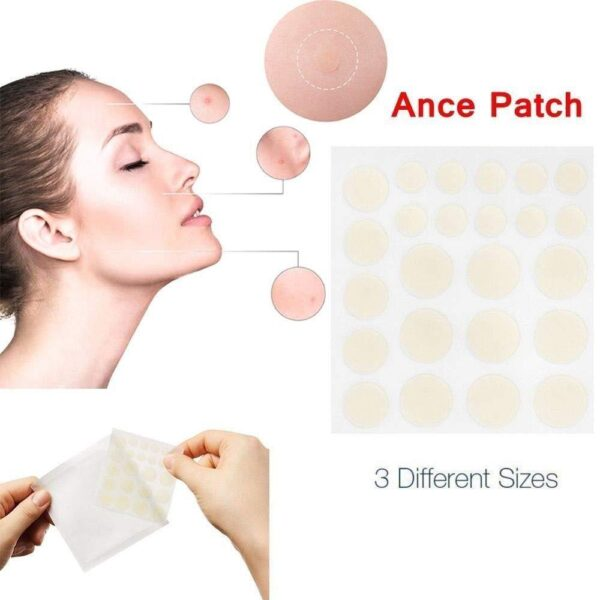 24pcs Hydrocolloid Acne Invisible Pimple Master Patch Skin Tag Removal Patch Pimple Blackhead Blemish Removers Facial 1