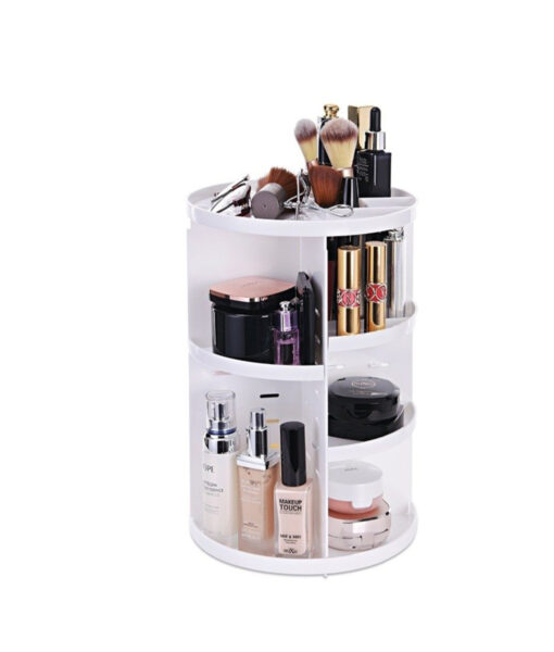 Degree Rotating Makeup Organizer, 360-Degree Rotating Makeup Organizer