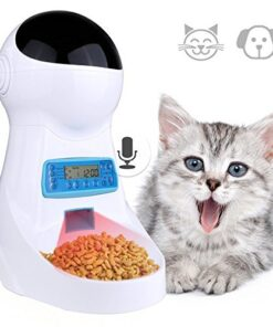 3L Automatic Pet Food Feeder With Voice Recording Pets food Bowl For Medium Small Dog Cat 2.jpg 640x640 2