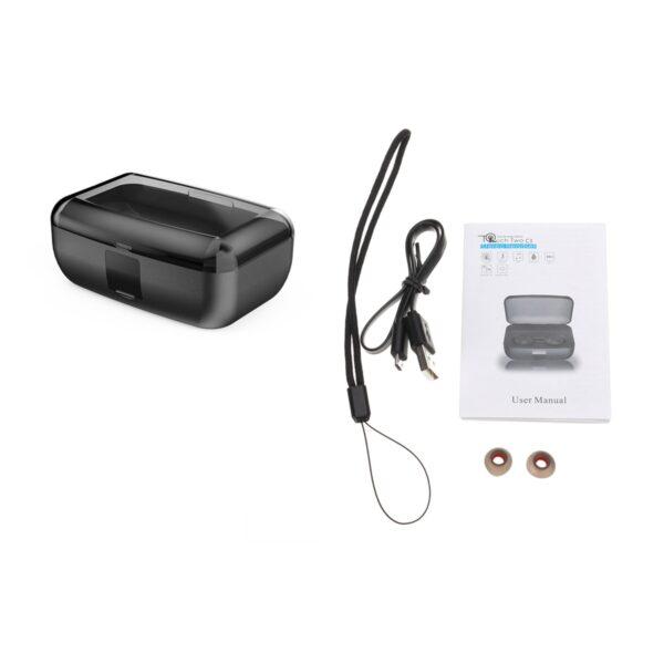Bluetooth 5 0 Ture Wireless Earphones Mini TWS Earbuds Cordless Twins Stereo IPX8 Sport Swimming Headset 5