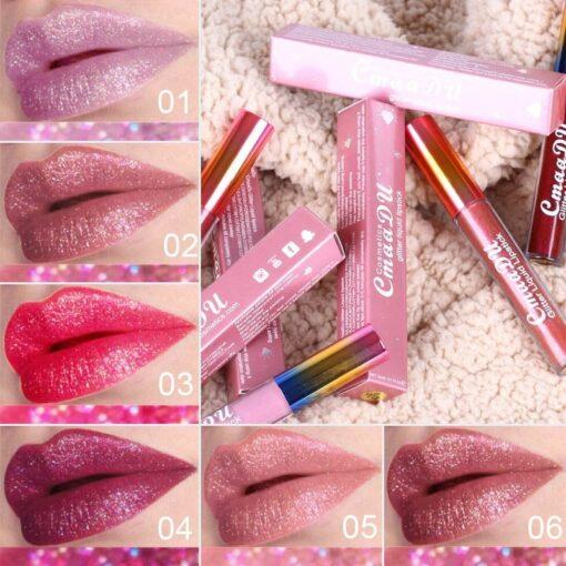 Brilliant Diamond Glitter Liquid Lipstick, Brilliant Diamond Glitter Liquid Lipstick