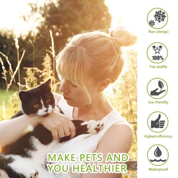 Dewel Summer Anti insect Cat Dog Collar Anti Flea Mosquitoes Ticks Waterproof Cat Flea Collar for 2