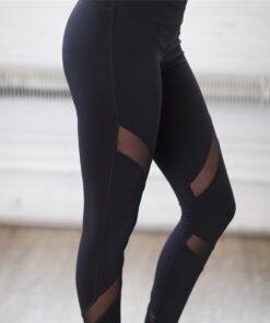 Mesh Yoga Leggings, Mesh Yoga Leggings