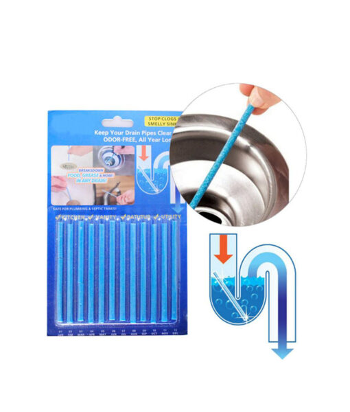 Drain Cleaner and Deodorizer Sticks, Drain Cleaner and Deodorizer Sticks