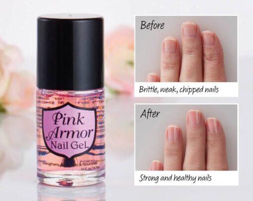 Pink Armor Nail Gel, Pink Armor Nail Gel