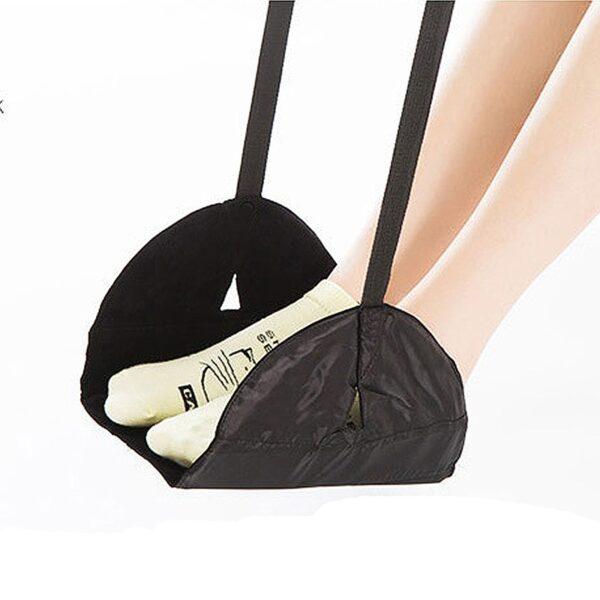 Smelov wholesale portable chair office home foot hammock travel outdoor indoor Mini foot feet rest hammock 1