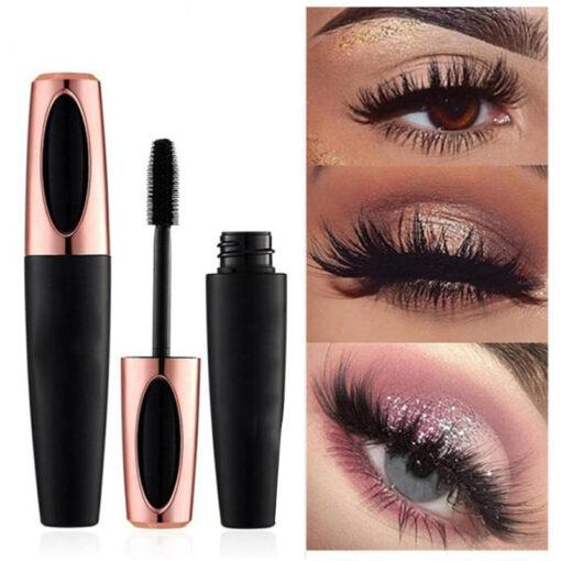 Silk Fiber Eyelash Mascara, 4D Silk Fiber Eyelash Mascara