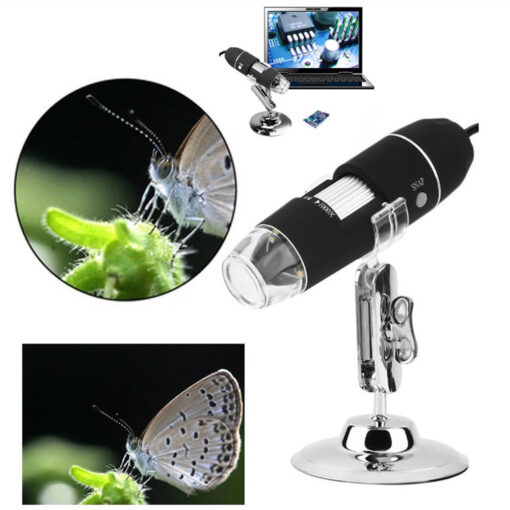 Microscope Camera, 1000X Zoom 1080p Microscope Camera