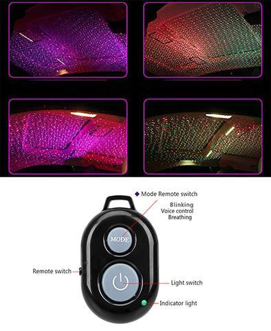 Ambient Star Light, LED Car Atmosphere Ambient Star Light