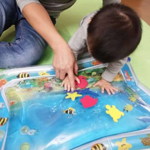 Tummy Time Inflatable Water Mat, Tummy Time Inflatable Water Mat for Babies