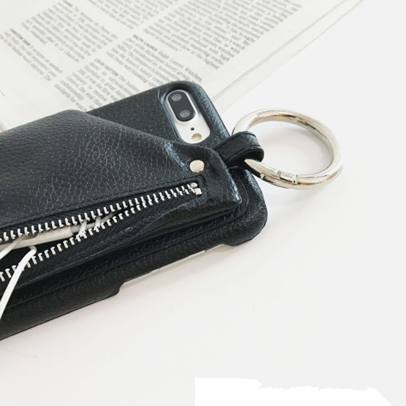 Iphone Case With Leather Pouch and Keyring - Not sold in stores
