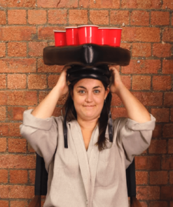 Beer Pong Hat, Beer Pong Hat