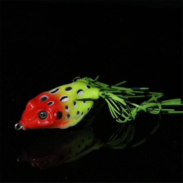 1 PCS 6 5 cm 15g Lifelike Soft Small Jump Frog Engaging Bait Silicone Bait for 2
