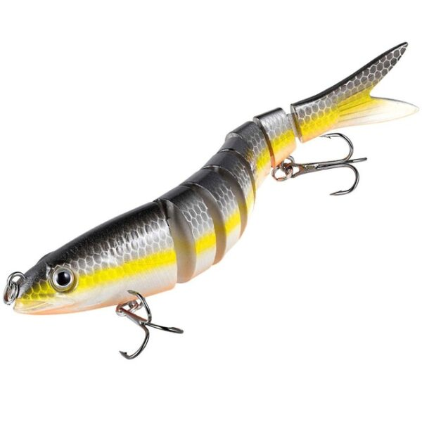 13cm 26g Multi Jointed Fishing Lures Pike Lure Sinking Wobblers Swimbait Hard Lure Fishing Tackle For 4.jpg 640x640 4