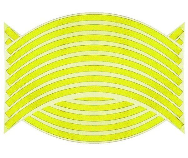 16 Strips Motorcycle Car Wheel Tire Stickers Reflective Rim Tape Motorbike Auto Decals For Yamaha Suzuki 3.jpg 640x640 3
