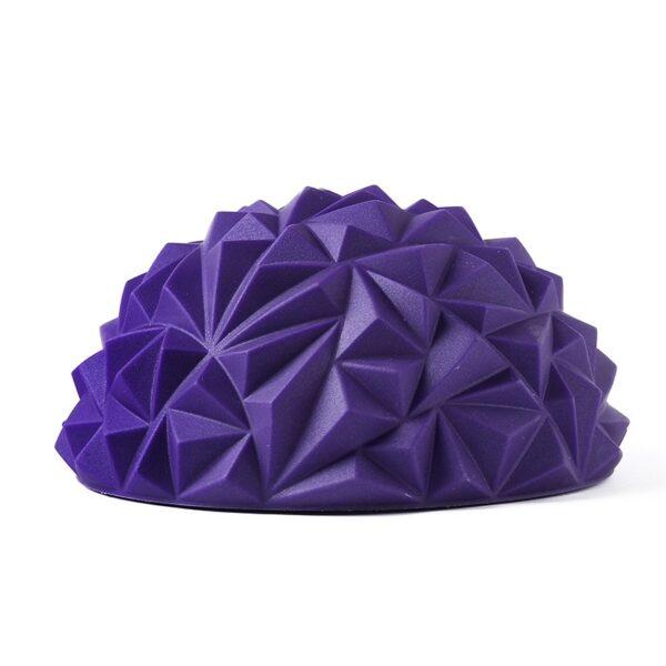 1pcs Children s Sense Training Yoga Half ball Water Cube Diamond Pattern Pineapple Ball Foot Massage 1