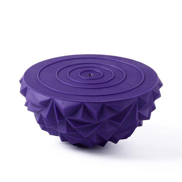 1pcs Children s Sense Training Yoga Half ball Water Cube Diamond Pattern Pineapple Ball Foot Massage 2
