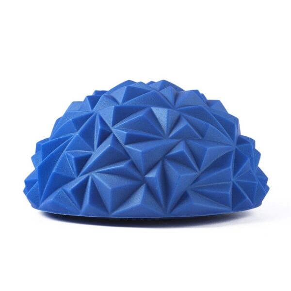 1pcs Children s Sense Training Yoga Half ball Water Cube Diamond Pattern Pineapple Ball Foot