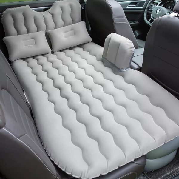 2018 High quality Top Selling Car Back Seat Cover Travel Mattress Air Inflatable Bed with 1