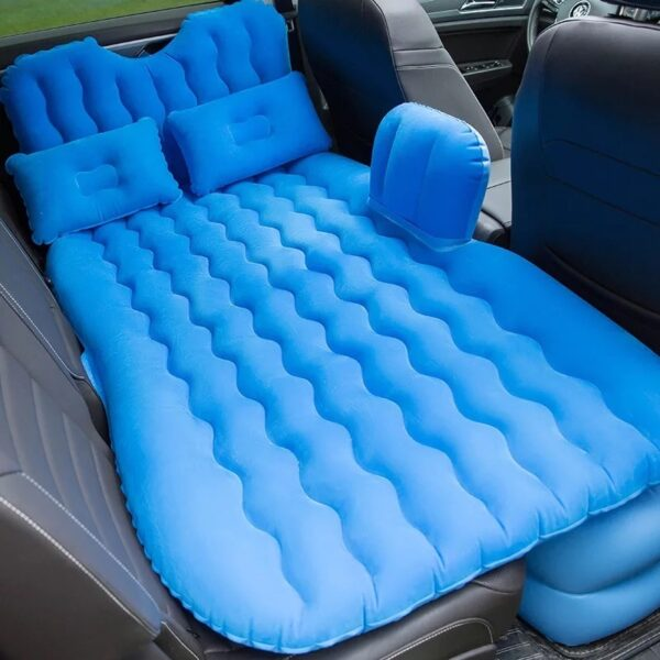 2018 High quality Top Selling Car Back Seat Cover Travel Mattress Air Inflatable Bed with 2