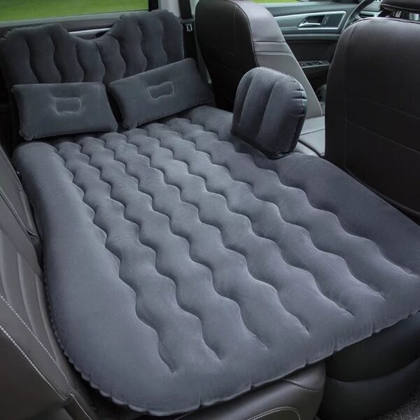2018 High quality Top Selling Car Back Seat Cover Travel Mattress Air Inflatable Bed with 3