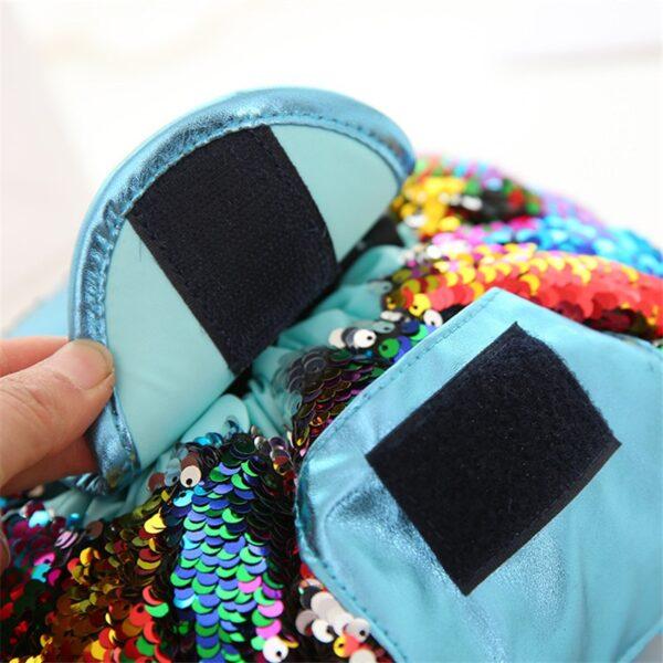 2018 Mermaid Sequins design Cosmetic Bag Drawstring Makeup Case Women Travel Make Up Organizer Storage Pouch 2