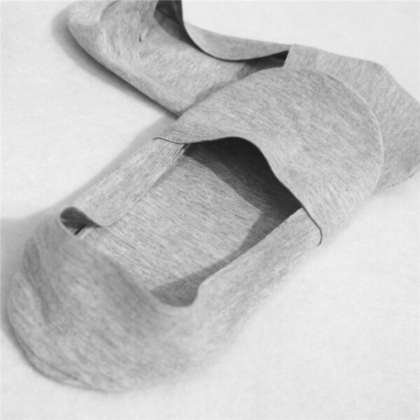 2019 High Quality Bamboo Fiber Cotton Men Socks Invisible Shallow Mouth Silicone Non Slip Short Socks 2