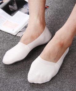 2019 High Quality Bamboo Fiber Cotton Men Socks Invisible Shallow Mouth Silicone Non Slip Short Socks 2.jpg 640x640 2