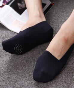 2019 High Quality Bamboo Fiber Cotton Men Socks Invisible Shallow Mouth Silicone Non Slip Short Socks 3.jpg 640x640 3