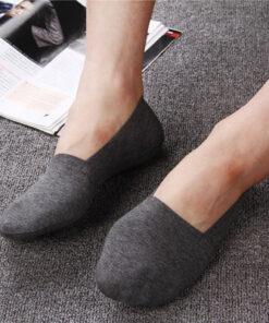 2019 High Quality Bamboo Fiber Cotton Men Socks Invisible Shallow Mouth Silicone Non Slip Short Socks.jpg 640x640