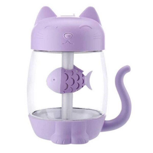 3 in 1 350ML USB Cat Air Humidifier Ultrasonic Cool Mist Adorable Mini Humidifier With LED 1.jpg 640x640 1