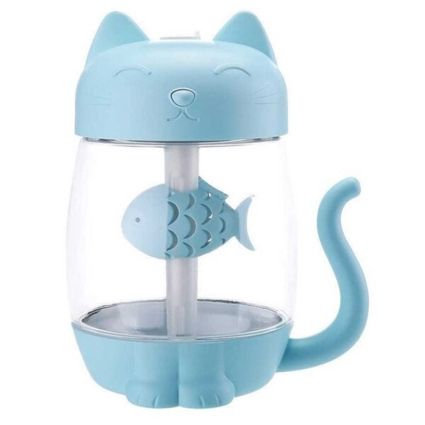 3 in 1 350ML USB Cat Air Humidifier Ultrasonic Cool Mist Adorable Mini Humidifier With LED 2.jpg 640x640 2