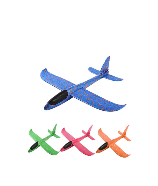 36 49CM Foam Throwing Flying Airplane Aircraft Hand Launch Free Fly Plane Hand Throw Plane Puzzle 1