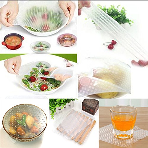 Reusable Food Wrap, Stretch and Fresh Reusable Food Wrap