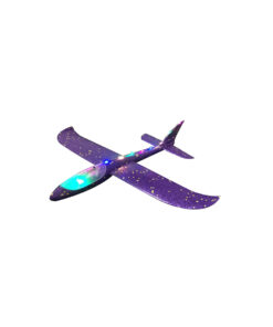 Led Light Hand Throw Flying Glider Planes