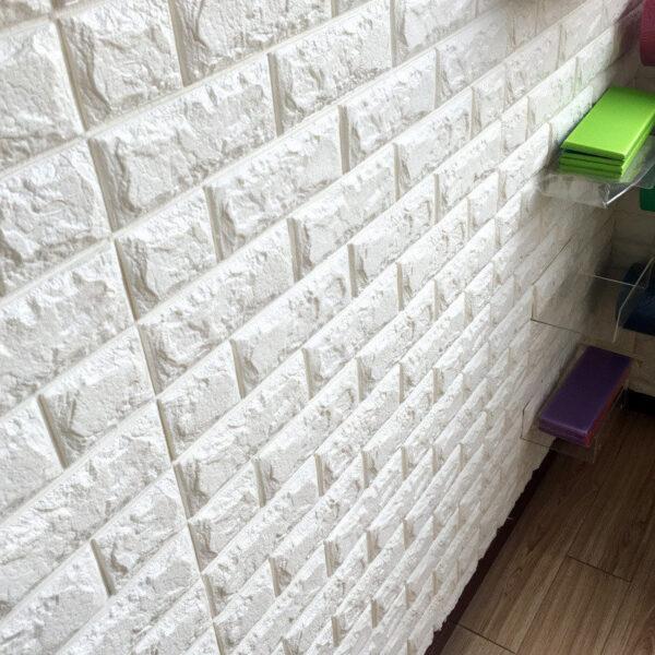 70 77 3D Brick Wall Stickers DIY Self Adhensive Decor Foam Waterproof Wall Covering Wallpaper For 1