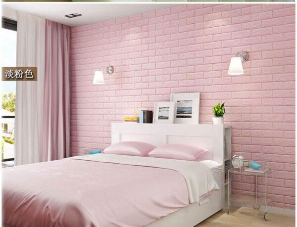 70 77 3D Brick Wall Stickers DIY Self Adhensive Decor Foam Waterproof Wall Covering Wallpaper For 5