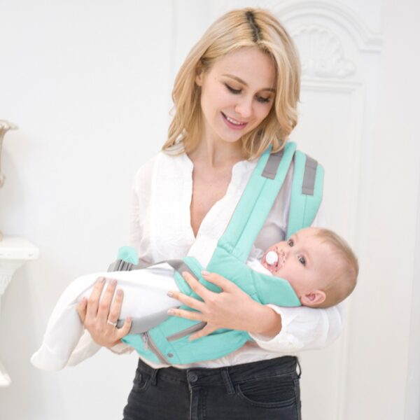 AIEBAO Ergonomic Baby Carrier Infant Kid Baby Hipseat Sling Front Facing Kangaroo Baby Wrap Carrier for 2