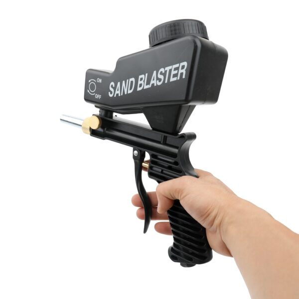 Anti rust Protection sand blaster machine Save unnecessary surface Material Adjust sandblast flows change nozzles Spray 3