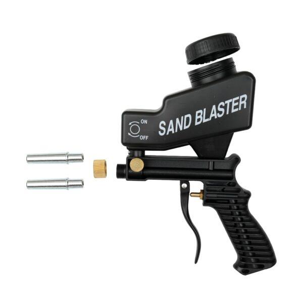 Anti rust Protection sand blaster machine Save unnecessary surface Material Adjust sandblast flows change nozzles Spray 4